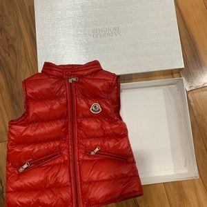 Moncler Toddler vest size 2